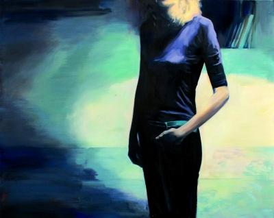 100. Autoportret 5  150x90 2005