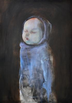 8. Spiace dieta oil on canvas 190x135 cm 2013