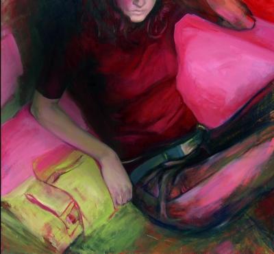 98. Autoportret 1 110x100 2005