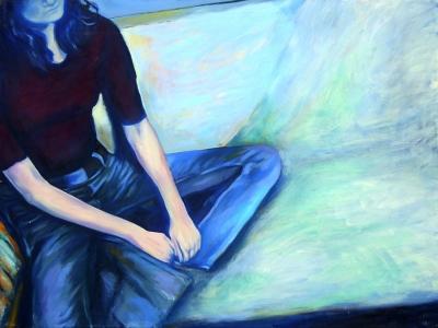 99. Autoportret 4 150x90  2005