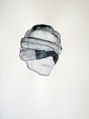 Portret 3 Maja Matrkova 42x56 2012